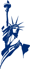 Classical Statue Logo of the Libertarian Party